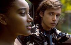 Amandla Stenberg and Nick Robinson in Everything, Everything (16)