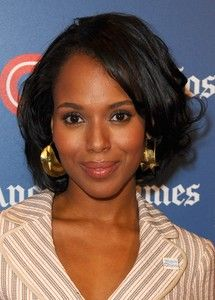 Kerry Washington loves her some fulani earrngs!