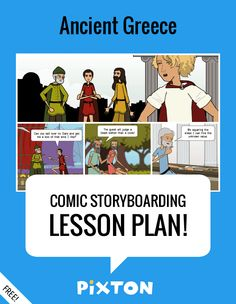 Your students will love writing about ANCIENT CIVILIZATIONS with Pixton comics and storyboards! This FREE lesson plan features a Teacher Guide and themed props. PLUS 5 awesome activities with interactive rubrics and student examples.