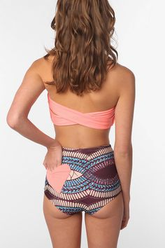 #UrbanOutfitters heart high-waist swim  Love it, but wish the bottoms weren't high waisted..