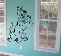 Scooby Doo Wall Decal Car Decal Laptop Sticker Wall Art Kids Room Decoration Nursery Sticker CHOOSE YOUR SIZE on Etsy, $6.00