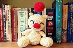 With this free crochet pattern you can make your very own amigurumi moogle , based on the ongoing characters featured in the Final Fantasy ...