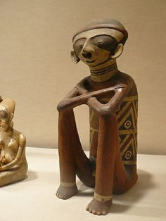 Seated Chinesco Figure Mexico Nayarit 2nd-4th century CE Ceramic | Flickr - Photo Sharing!