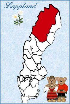 Lappland, Northern Sweden.