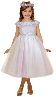 Girls KID Collection New Princess Tulle Flower Girl Dress - Buy New: $49.89 - $49.99 (On sale from $139.99)