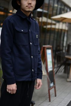 RAWDRIP2nd Official blog - Pointer Brand Wool Chore Coat