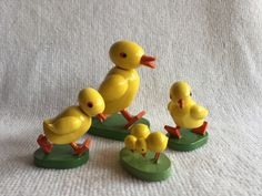 Large Duck, Small ducks and Chicks Wendt & Kuhn