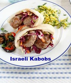 Pistachio Kebabs and more for Israeli Independence Day