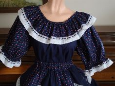 peasant blouse by luckycloverleaf on Etsy
