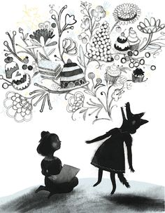 Coming in April from Kids Can Press: 'Virginia Wolf', written by Kyo Maclear, illustrated by Isabelle Arsenault