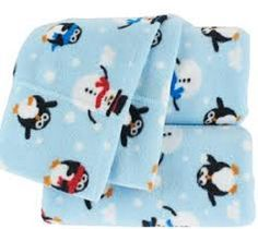Berkshire Polar Fleece Sheet Set Penguin Blue Full Size -- Be sure to check out this awesome product. (This is an affiliate link) #SheetsPillowcases