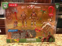 Christmas comes early!  #fortnite #fortniteirl #fortnitetoys #fortnitefigures #f...   - DIY Toys