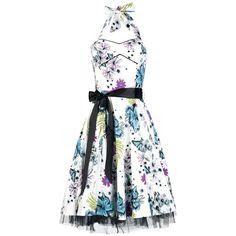 Floral Skully Dress