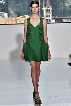 Fashion runway| Delpozo Spring/Summer 2015 Rtw New York Fashion Week | http://www.theglampepper.com/2014/09/11/fashion-runway-delpozo-springsummer-2015-rtw-new-york-fashion-week/