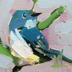 Cerulean Warbler no. 85  Bird Art Print