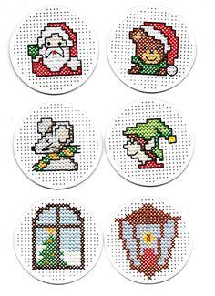123 Cross Stitch, Cross Stitch Cards, Simple Cross Stitch, Cross Stitch Designs, Cross Stitching, Cross Stitch Embroidery, Cross Stitch Patterns, Cross Stitch Christmas Cards, Christmas Journal