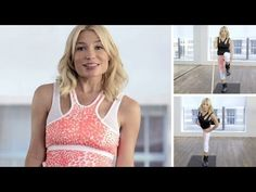 Tracy Anderson's ultimate leg workout. #FitForFashion #TracyAnderson #NETAPORTER