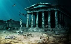 The lost city of Atlantis?  http://i.telegraph.co.uk/multimedia/archive/01848/atlantis_1848106c.jpg
