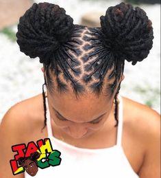 Cute braided hairstyle for darker skin girls. Cute braided hairstyle for Short Locs Hairstyles, Black Girls Hairstyles, Wedding Hairstyles, Elegant Hairstyles, Cornrows, Sisterlocks, Curly Hair Styles, Natural Hair Styles, Dreadlock Styles