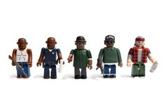 Medicom Toy x Rockstar Games Grand Theft Auto San Andreas Kubrick Set