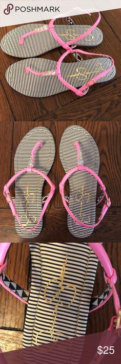 Jessica Simpson sandals Very cute and very stylish Jessica Simpson sandals. Goes great with every outfit. Never worn before. Jessica Simpson Shoes Sandals