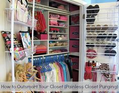 How to Outsmart Your Closet {Painless Closet Purging} The Creativity Exchange