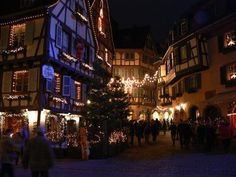 Colmar is noted as a picturesque Alsatian town in France