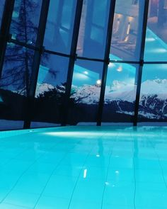 Views of the Alps and full moon at the European Vacation, European Destination, Floor To Ceiling Windows, Swiss Alps, Wake Me Up, Full Moon, Switzerland, Travel Inspiration, Spa
