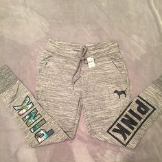 Pink Victoria's Secret jogger pants New, jogger pants PINK Victoria's Secret Pants Track Pants & Joggers