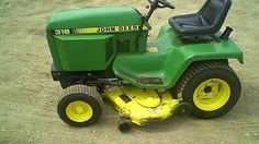 John Deere Service Technical Manual: JOHN DEERE 316,318 AND 420 LAWN AND GARDEN TRACTOR...