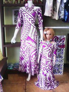 Beautiful Island Dress New Dress Pattern, Dress Patterns, Samoan Dress, Island Style Clothing, Polynesian Designs, Island Wear, Island Design, Tonga, Different Dresses