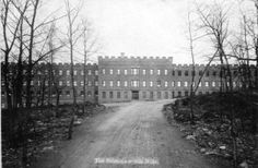 Silk Mill 1882, Hawley PA also know as The Castle