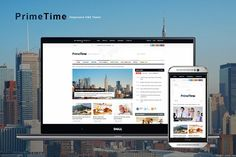 PrimeTime - Magazine & Blog HTML by ThemeREX on @creativemarket