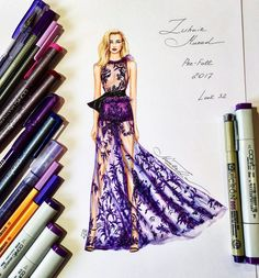 "971 Likes, 8 Comments - NataliaZ.Liu (@nataliazorinliu) on Instagram: ""Chic Zuhair Murad gown of Pre-Fall 2017 collection @zuhairmuradofficial @zuhairmuradprivate…"""