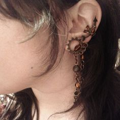 SlaveToSteampunk The Trinket Collector Ear Cuff by Jynxsbox, $19.00