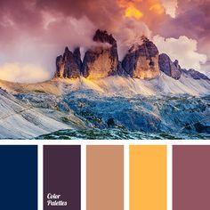 aubergine color, beige color, color of sunset, colors of purple sunset, dark blue color, deep blue color, eggplant color, grey-pink color