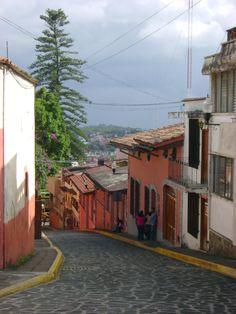 Callejón de Rojas (Rojas's Alley) at Xalapa.