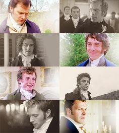 Jane Austen Men - The good ones e the bad ones