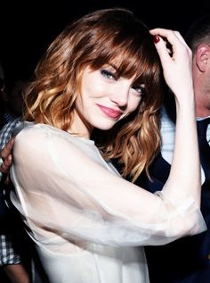 emma stone: the one actress that can do any hair color & look good