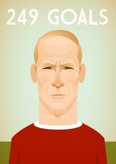 Sir Bobby Charlton. Manchester United.