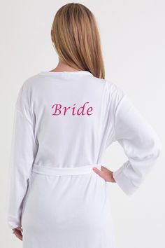 Items similar to Mother of the Bride dressing gown/bath robe in a cotton material. Bride Dressing Gown, Bridesmaid Robes, Personalized Wedding Gifts, Mother Of The Bride, Gowns, Pure Products, Bridal, Trending Outfits, Pretty
