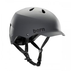 The Watts is a bike helmet inspired by skate style. Developed in 2007, the Watts is the successor of Bern's signature model the Baker You asked for the Baker with vents and you got it. Today the Watts is one of Bern's most valued all-around lids.