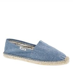 I just bought the red/white striped ones - LOVE.  Soludos® classic espadrilles