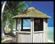 paillote tiki hut twiga pinterest bar et bars tiki. Black Bedroom Furniture Sets. Home Design Ideas