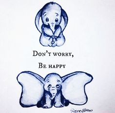 Dumbo Disney draw