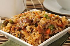 Teriyaki Pork Fried Rice | Tiny New York Kitchen