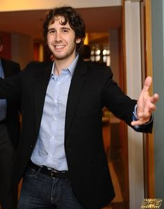You want a hug? From me? Aww, Josh Groban, you're so sweet... Don't mind if I do! ;D