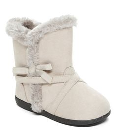 Loving this Gray Stephanie Squeaker Boot on #zulily! #zulilyfinds