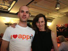 Jeroen Potters- Macpot en WPMarieken op de tafel van Appril 2012