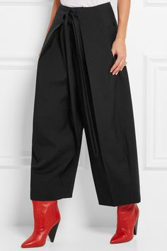 ISABEL MARANT Radley wool-twill wide-leg pants€620
